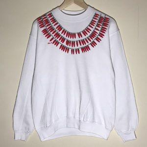 Vintage 1980s Santa Fe Chili Sweatshirt